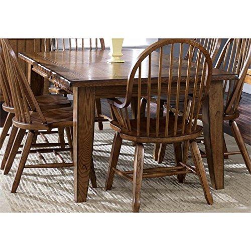 Liberty Furniture 17-T4408 Treasures Dining Rectangular Leg Table, 44