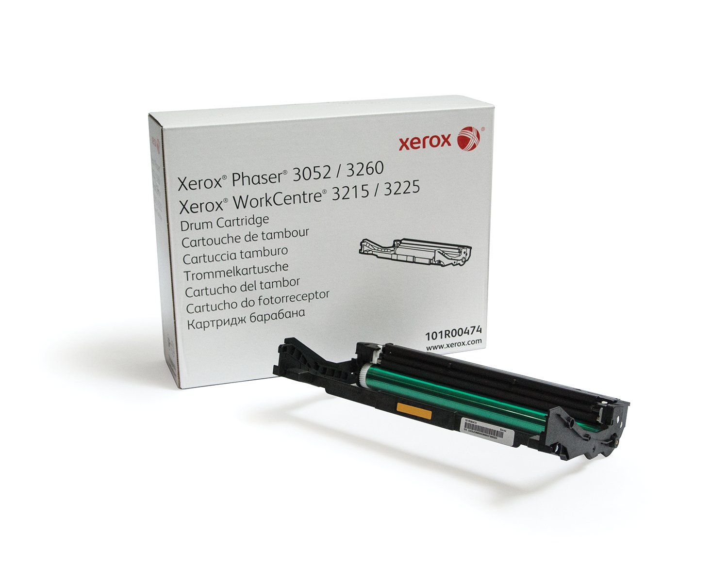 Xerox 101R00474 Drum Cartridge compatible with Phaser 3260 and WorkCentre 3215/3225