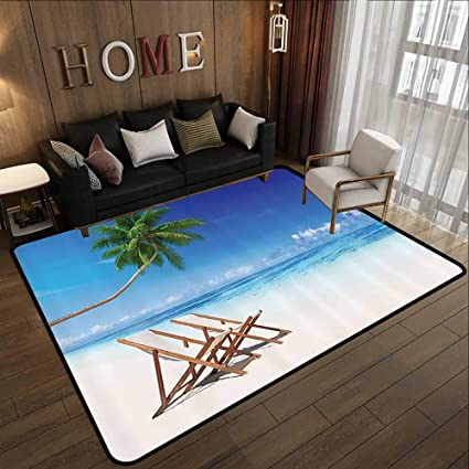 Amazon Com Rugs Coastal Decor Collection Havana Paradise
