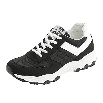 3a1b8879046f3 Amazon.com: AIMTOPPY Fashion Women Lace-Up Sports Shoes Breathable ...
