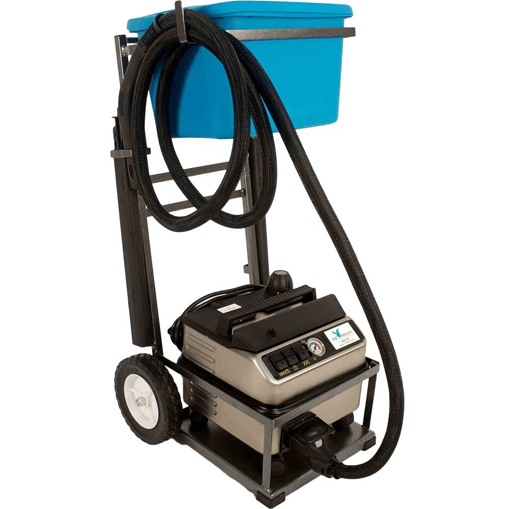 US Steam Commercial Grade Vapor Steam Cleaner with Burst of Hot Water