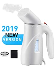 Clothes Steamer, Pictek Handheld Fabric Steamer [New Version] Portable Garment Steamer On the Go, Fast Heat-Up Steam Generator Mini Travel Steamer, 8 Holes Business/Home Wrinkle Remover with ETL Certificated