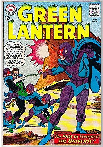 GREEN LANTERN #37, FN, Power Ring, Hal Jordan, 1st Evil Star, ()