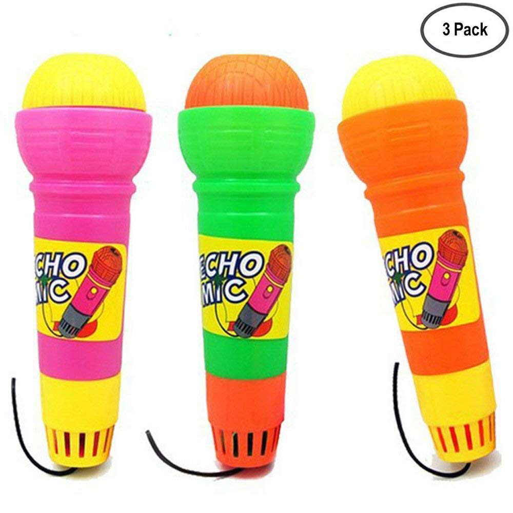 Magic Mic Toy Echo Microphone Voice- for Kids Graduations | Holidays |Birthday Parties-3 Pack Mars wings MCF
