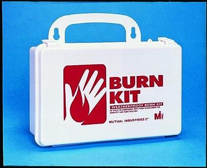 Lot of 10 Burn Free 4X4 Gel Dressing Bandage First Aid Kit Emergency Response