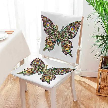 Amazon.com: Mikihome - Juego de cojines con diseño de ...