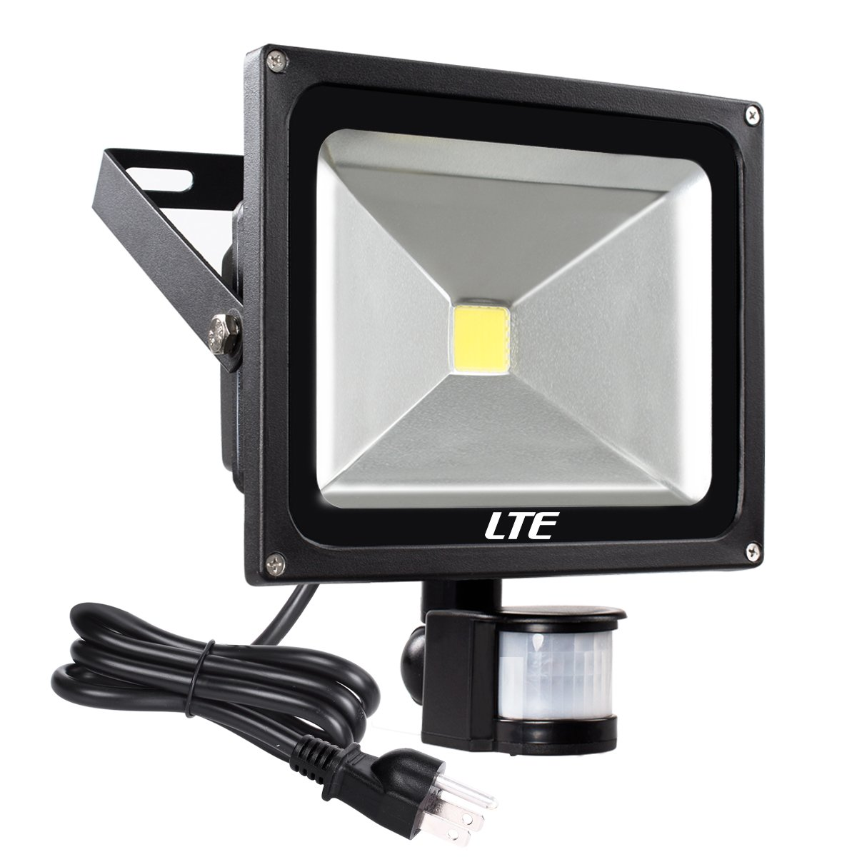 Outdoor Security Lights With Sensor Instructions: LTE 30W Motion Sensor Flood Lights Outdoor Security