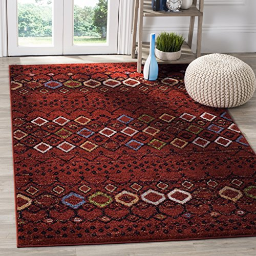Safavieh Amsterdam Collection AMS108D Southwestern Bohemian Terracotta