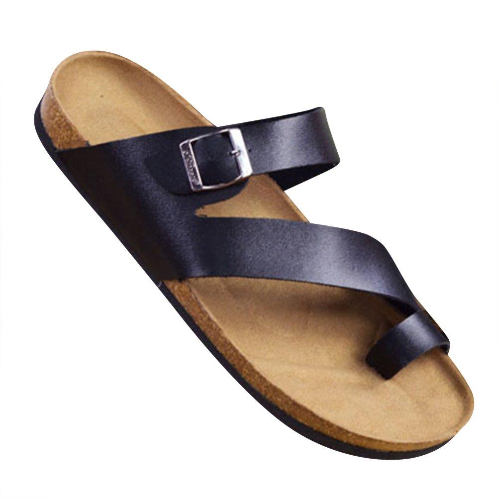 ZhuiKun Pantofole Unisex Adulto - Sandali Comodi Eleganti Ciabatte  Infradito Nero EU 42.5  Etichetta 45  Amazon.it  Scarpe e borse d06a41b5ec7