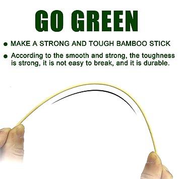 Amazon.com: Pinchos de bambú SRXING, palitos de Kebab ...