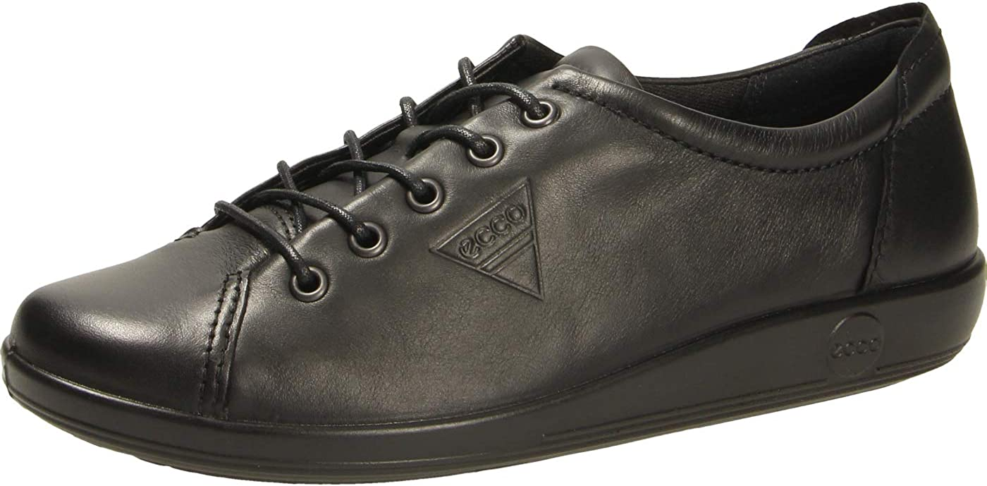 ECCO Soft 2.0 Zapatos de Cordones Derby para Mujer