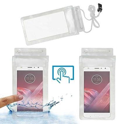 new style 8627b 3216d Acm Waterproof Bag Case for Motorola Moto Z2 Play: Amazon.in ...