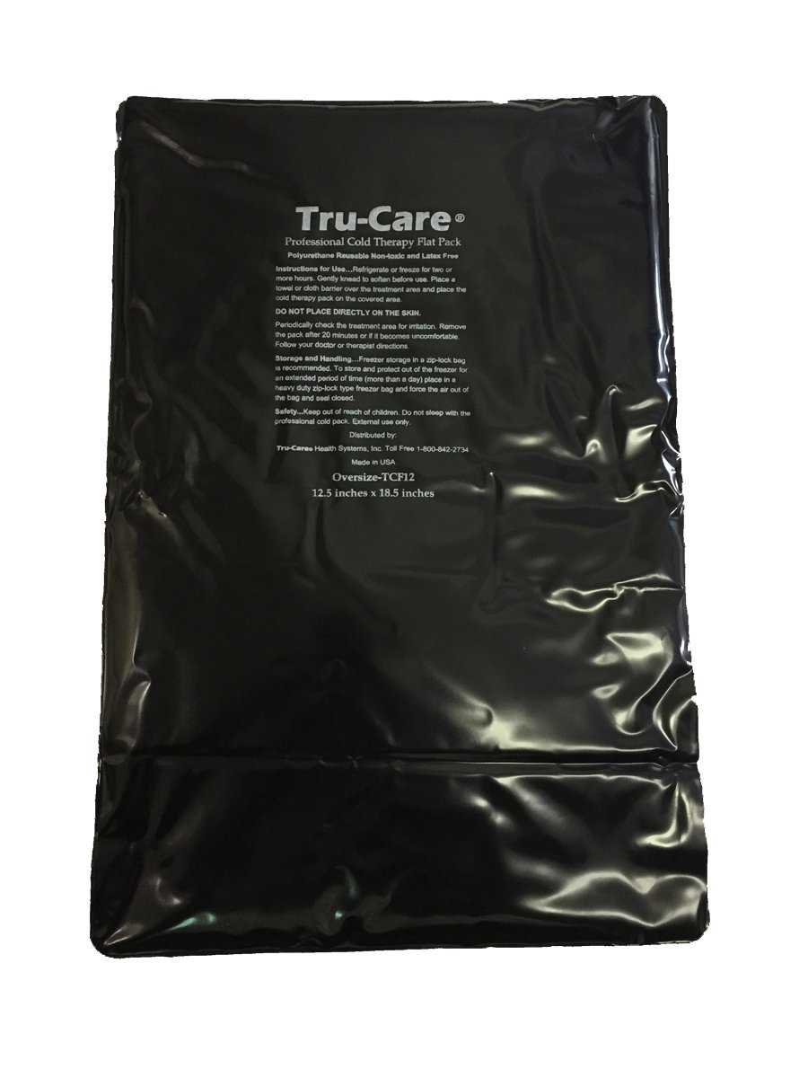 Tru-Care Reusable latex Free Ice Gel Pack (Oversize 12.5x18.5 inches)