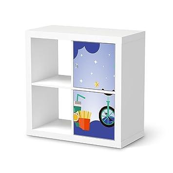 Mobeltattoo Kinderzimmer Dekoration Fur Ikea Kallax Regal 2