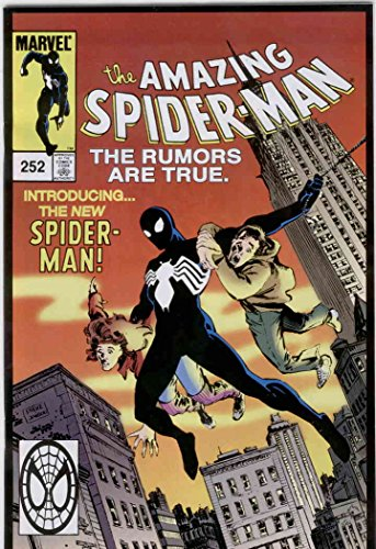 [Amazing Spider-Man, The #252 (2nd) VF/NM ; Marvel comic book] (25 Cents Costume)