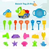 KKONES Beach Toy Truck with Bag, Suitable for