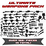 custom guns - Ultimate Weapons Pack 115+ Weapons and Accessories for Toy Custom Bricks Minifigures