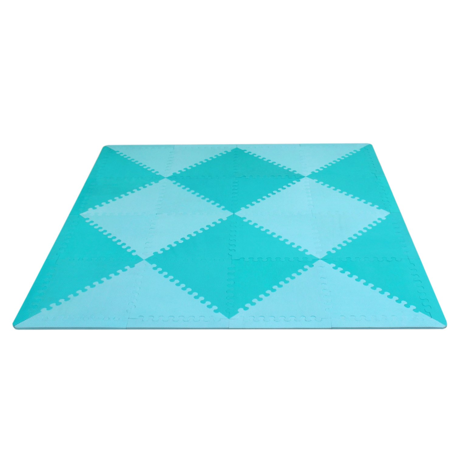 meiqicool Baby Crawling Mat Puzzle Play Foam Tiles Non Toxic Playmat Floor Mats for Tummy Time,3510LV