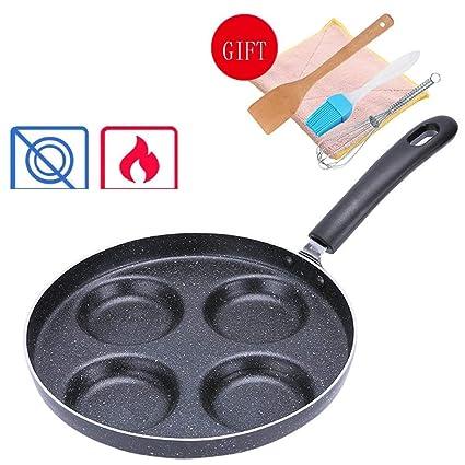 FIXD [0A02 Hogar Wok/Olla de Cocina, sartenes sartén Pan Antiadherente Pan casero