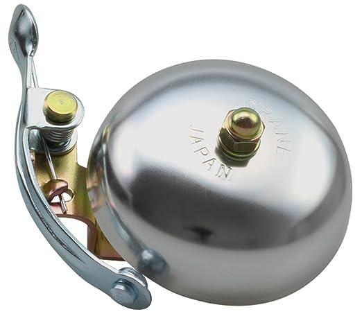 57 opinioni per Crane Bell Co. Suzu W Steel Band Mount Campanello Bicicletta, Argento, 55 mm