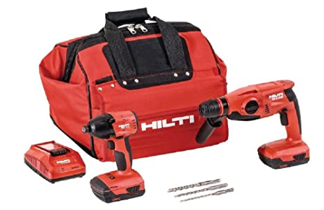 Amazon.com: Hilti 22V - Pack de 3 herramientas: Home Improvement