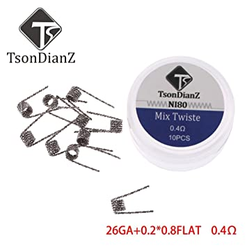 Yeleo Trosetry Coil Draht, Alien Clapton Hive Tiger Twisted Fused ...