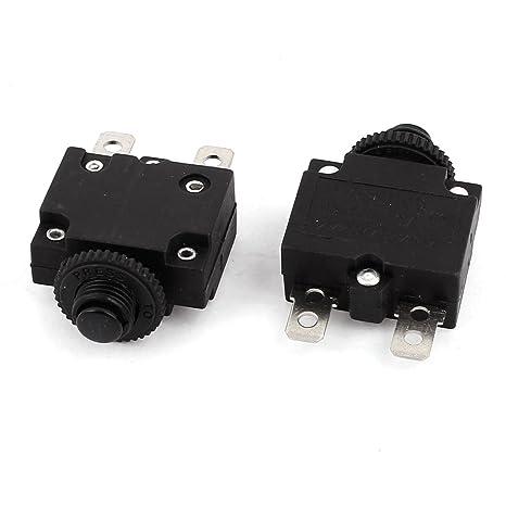 sourcingmap® AC125V/250V 10A HS-R01 Interruptor automático del compresor de aire en