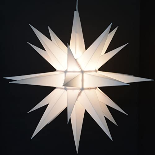 Advent Stars Moravian Star Indoor/outdoor Christmas Decoration Light,  21-inches - Christmas Star Lights: Amazon.com