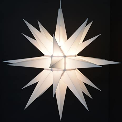 Charming Advent Stars Moravian Star Indoor/outdoor Christmas Decoration Light,  21 Inches
