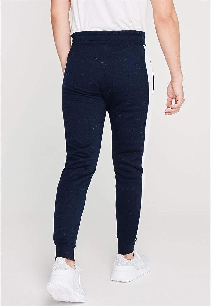 Everlast Hombre Bronx Pantalones De Jogging Azul Marino L: Amazon ...