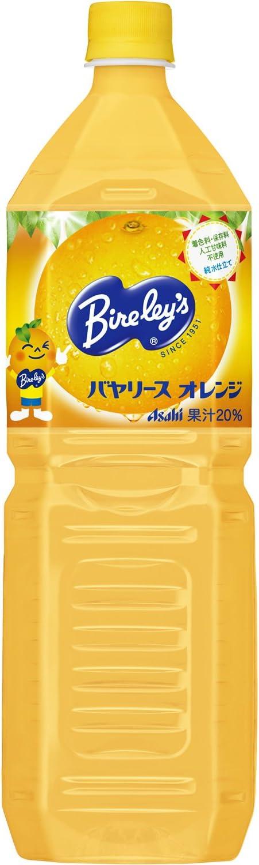 バヤリースオレンジ 1500ml×8本