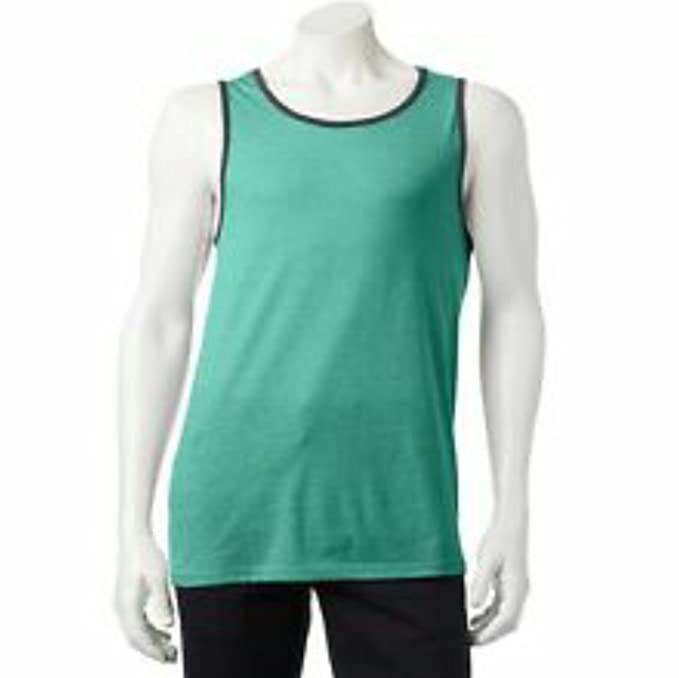 22406cd07ba28d Image Unavailable. Image not available for. Color  Urban Pipeline Men Solid  Heather Tank Top ...