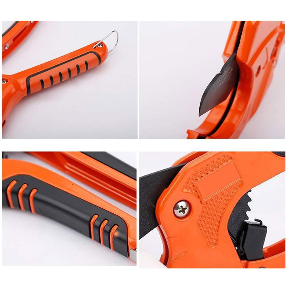 tijeras de tuber/ía tijeras cortadoras de tubo YoZhanhua Cortador de tuber/ías de PVC de aleaci/ón de aluminio herramienta para el hogar herramientas de corte de manguera