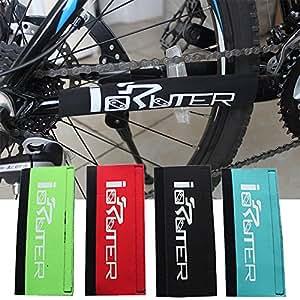Protector negro resistente para cuadro de bicicleta cubierta protectora para estancia de cadena