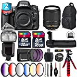 Holiday Saving Bundle for D610 DSLR Camera + 18-140mm VR Lens + Flash with LCD Display + Battery Grip + 6PC Graduated Color Filer Set + 2yr Extended Warranty + 32GB Class 10 - International Version