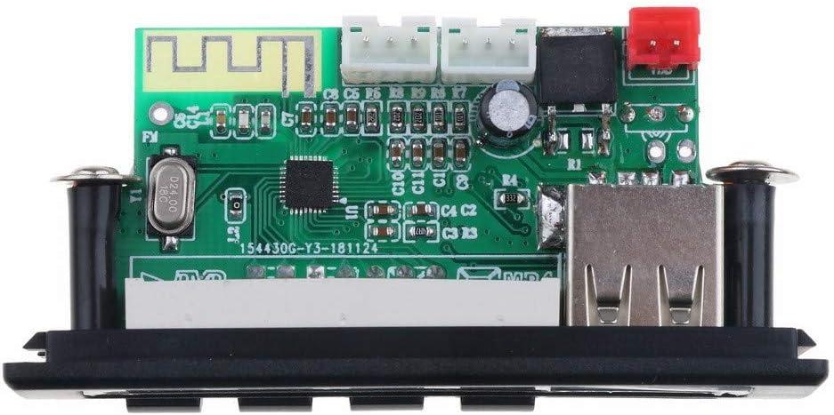 Tiamu Bluetooth5.0 Mp3 Wma Wav Decoder Board 5V 12V udio Module Color Screen Usb Tf Fm Radio For Car ccessories
