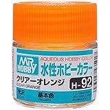 水性ホビーカラー H92 クリアー オレンジ