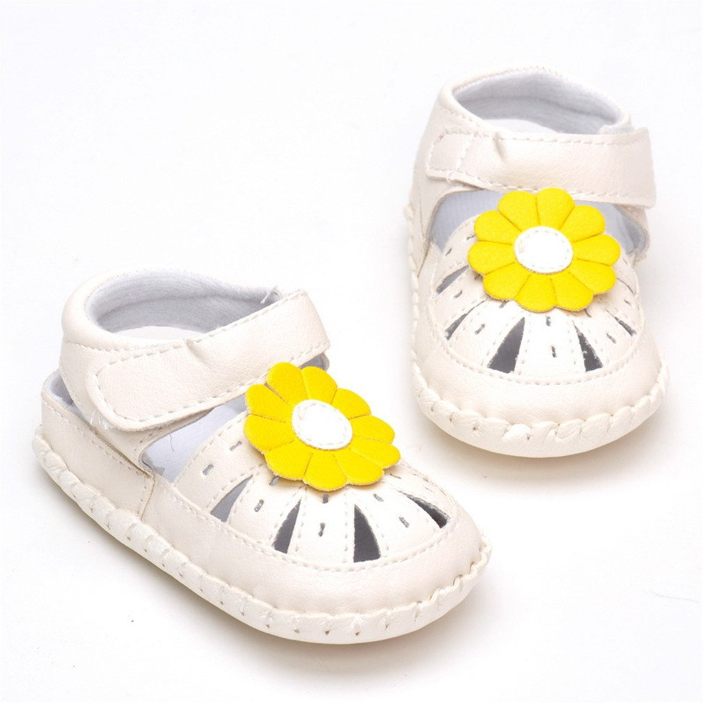 Child Baby Sandals Baby Shoes Hollow Out Neutral Sandals 1-3 Years Old Yellow 7-12 Months