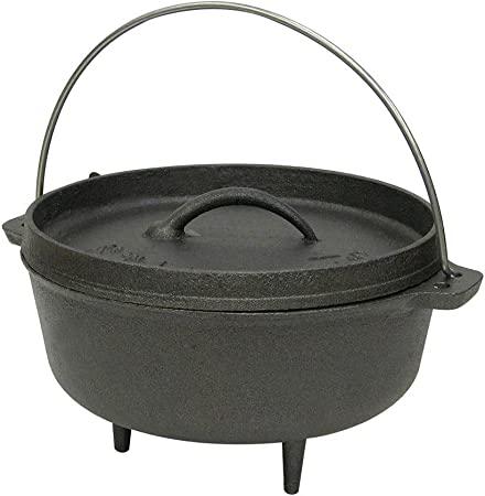 Stansport Cast Iron Dutch Oven