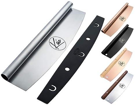 Amazon.com: Calidad cortador de pizza Cuchillo con tapa ...