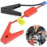 バッテリークリップ バッテリー充電クリップ スマート保護 12V小型 軽量 自動車緊急起動 専用クリップ 緊急対応用品 車 常備 必需品 多機能 品質保証