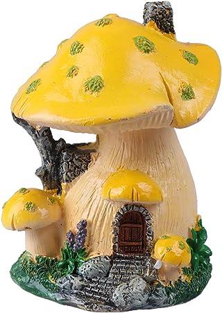 10 pcs Fairy Garden Miniature Mushroom Terrarium Accessory FAST USA SHIPPING