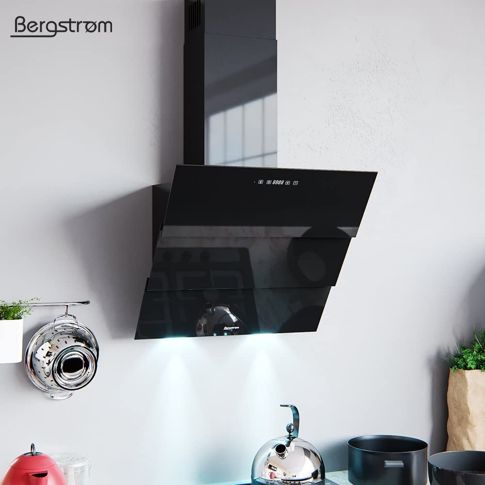 Bergström Campana extractora Cabeza Libre Rollo con Mando a Distancia, Campana Inclinada: Amazon.es: Grandes electrodomésticos