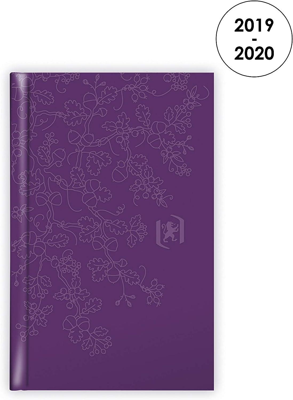 Diario agenda scuola universitario settimanale Campustimer 2017//2018 Black 10x15 cm nera