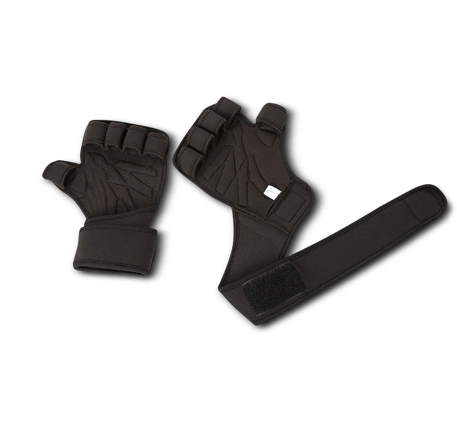 Fingerless Weight Lifting Gloves Pair Mens /& Womens Power Lifting Strength Training Workouts Premium Quality Neopren Gym Gloves Breathable /& Flexible Perfect for Bodybuilding Cross Fit Coop
