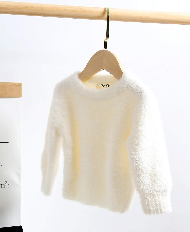 FASBB Baby Jungen M/ädchen Herbst Winter Strickjacke Strickwaren Kleinkind Gestrickt Warm Mantel Jacke Outwear Langarm 3D Ohr M/äntel