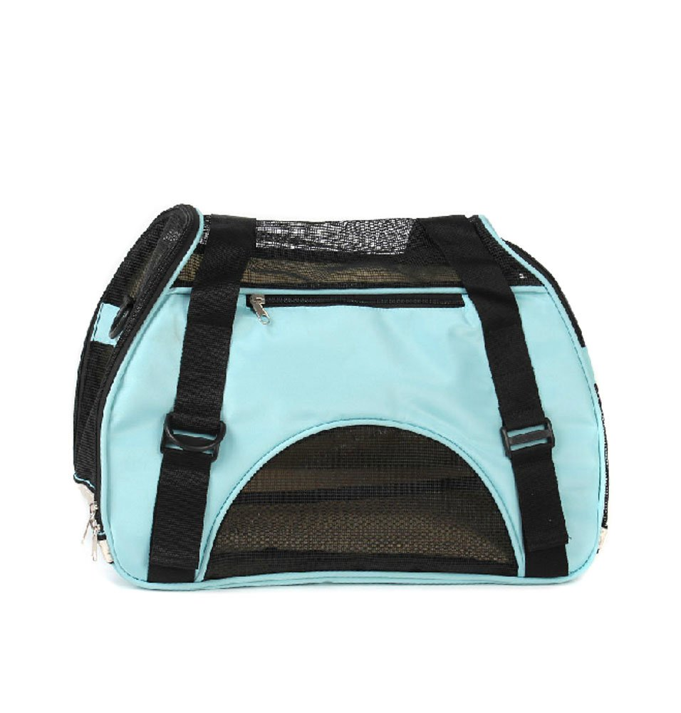 Foldable Soft Pet Carrier Tote Bag for Dogs and Cats (4624.533cm, blueE)