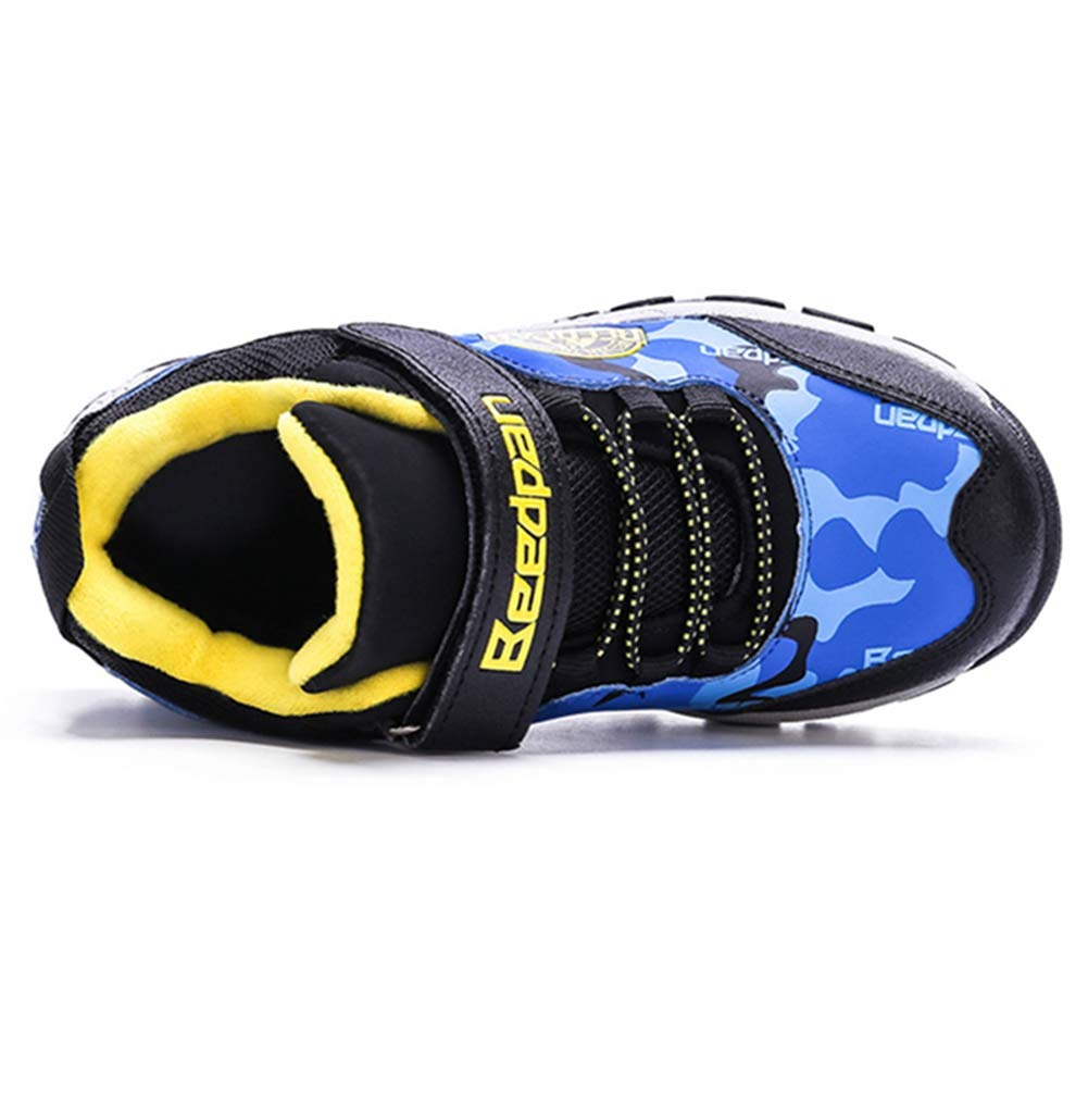 LGXH Youth Kids Winter Warm Outdoor Hiking Boots Non-Slip Boys Girls Sports Casual Walking Hiking Shoes