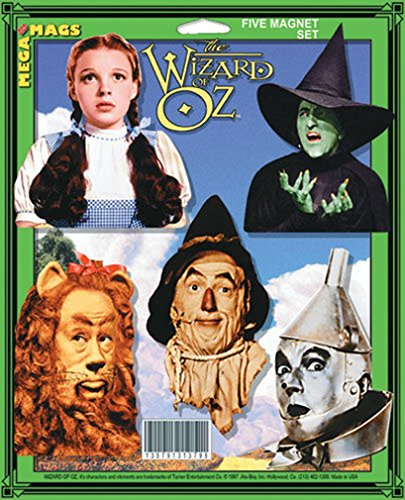 Ata-Boy Wizard of Oz Mega Mags Set of Five Character Magnets