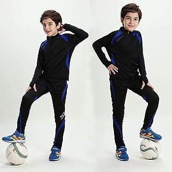 Sudadera de fútbol para niños Chándal Jersey Manga Larga Traje con ...